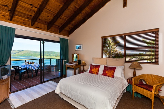 Bedroom, Bed and Breakfast Suite, Paradise Found accommodation in Knysna
