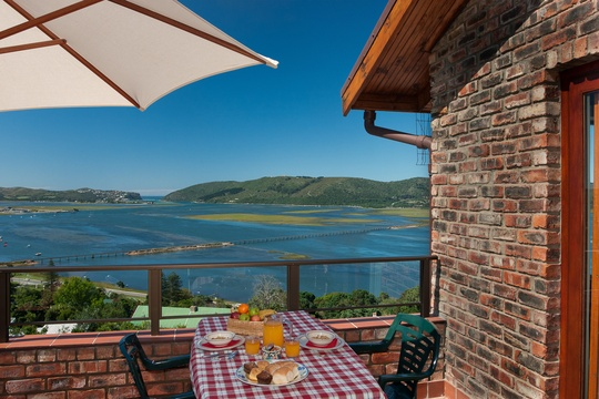 Patio, Self catering Apartment, Paradise Found accommodation in Knysna