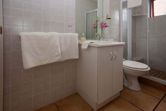 Self catering suite en suite. Paradise Found accommodation in Knysna