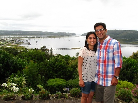Riddhi & Rachit Seth on honeymoon from India 23 – 25 Jan 2014: Knysna has been the most beautiful of places from our entire honeymoon. Paradise Founds view is simply breathtaking which adds to the magic of the holidays. Jenny, the warmth and love on which you have created this place really shows the warmth within you. Thank you for sharing the paradise with us.