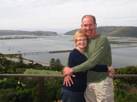 "Sharon & Jan Maree on honeymoon 22 – 25 Sept. 2013: We started our married life at your little ""Paradise."" What a lovely place! We will always remember this. Perfect! Thank you for everything and your lovely hospitality. God bless u two."