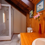 Shower, Self-Catering Apartment, Paradise Found accommodation in Knysna