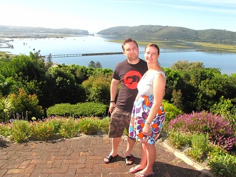 "Danie & Christa Swart on honeymoon 24 – 29 Nov. 2014: ""We had a fantastic honeymoon stay! The view took our breath away! Truly memorable."""