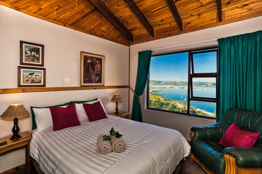 Bedroom, Self catering Apartment, Paradise Found accommodation in Knysna