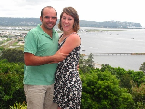 Ferdi & Elizma Visser on honeymoon 7-9 Nov, 2013: A perfect ending to our honeymoon trip. The view is so refreshing and one can really 'switch- off.' Thank you for your hospitality Jenny. We felt at home in the suite. Many blessings.