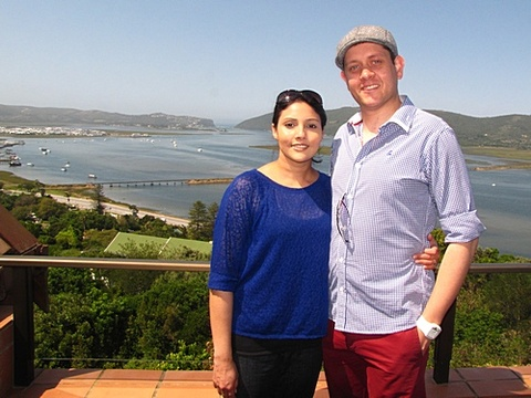 Simone & Kurt Muller on honeymoon 7-10 Oct. 2013: What a wonderful couple of days we've had. One of the most pleasant and peaceful stays we've had in Knysna. Jenny, thank you so much for your wonderful hospitality. The breakfast spread was truly amazing! The view from our room will be something never to be forgotten. Our honeymoon was made that extra special with such an amazing view!