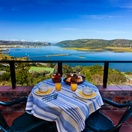 Breakfast with a view from the Bed and Breakfast Suite, Paradise Found accommodation in Knysna