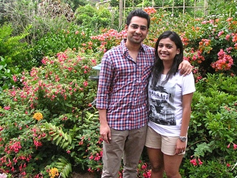"Nitin & Anamika Daukia on honeymoon from India 13 – 15 Dec. 2014: ""It was an amazing 2 days here. Thank you so much Jenny for your beautiful smile every day and your warm hospitality you have a beautiful home with a spectacular view. This was definitely the cherry on the top of our whole trip. Wish you a healthy & happy life ahead with your hubby."""