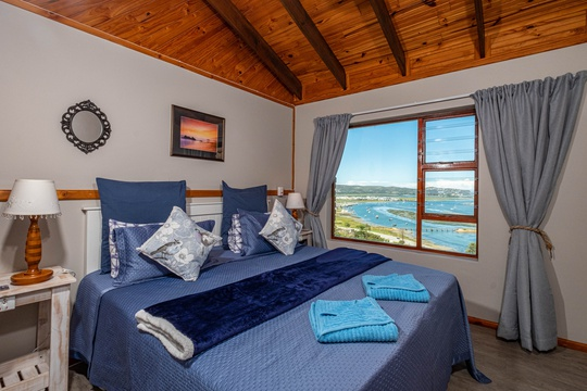 Self Catering Apartment with the stunning view from the Bedroom
