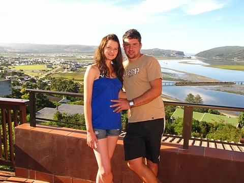 Chantelle & Herman van Staden on honeymoon 26-28 March 2014: Thank you very much for giving us the opportunity to stay at Paradise Found. It was very nice and we loved the view. Thank you so very much for your hospitality. The little bit extra that you did for us on our honeymoon, really made it extra special.