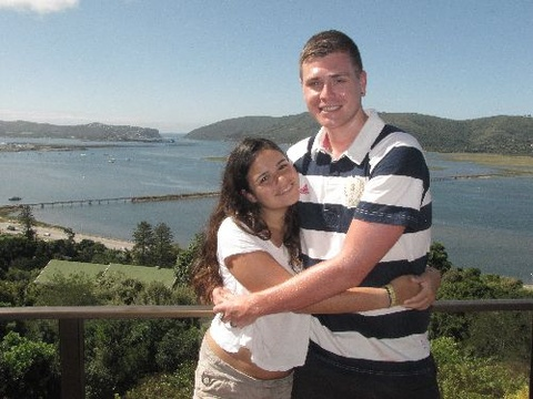 Andrea & Adam Tiran on honeymoon from UK 19-21 Jan 2013: To the lovely Jenny & Chris, what a warm and wonderful place you have here! Thank you ever so much for making Knysna special to us, we really needed it especially since our wonderful day hasn't gone as hoped. God works in wonderous ways and we must trust in his judgements! This truly has been a little piece of heaven on earth. Breakfast has been divine. Won't forget this place! God bless.