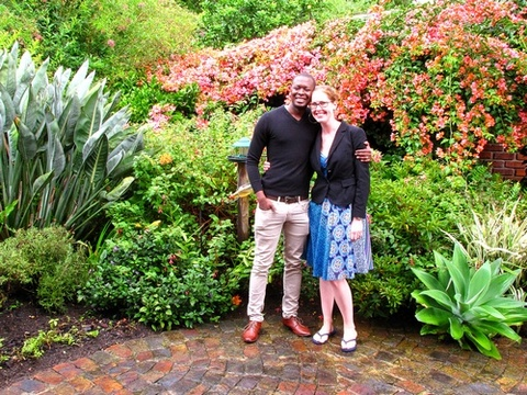 Sepo & Anna Masuku on honeymoon from London 7-10 Jan 2014: Thank you so much for the amazing stay at Paradise Found. We truly found paradise here. The view is perfect, the garden looks and smells wonderful and Jenny bakes the best scones in South Africa. Thank you for the travel advice. Especially the view from Eastern Head was breath-taking. This stay really added to our honeymoon.
