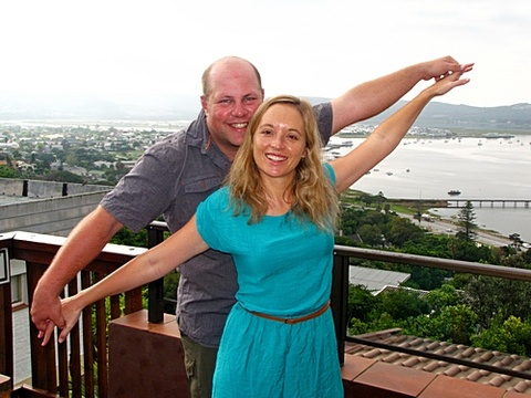 Stephan & Sanmari Fourie on honeymoon 22-26 Oct. 2013: The view is breathtaking! The hospitality is 5 - star! We have enjoyed our stay and will definitely be back!
